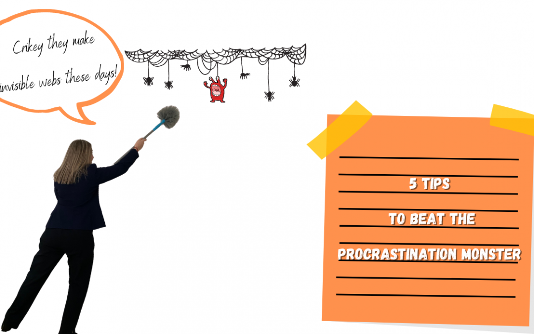 5 tips to beat the procrastination monster